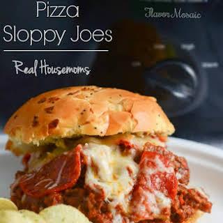 Slow Cooker Pizza Sloppy Joes.