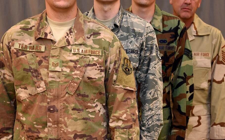 لباس نظامی امریکایی