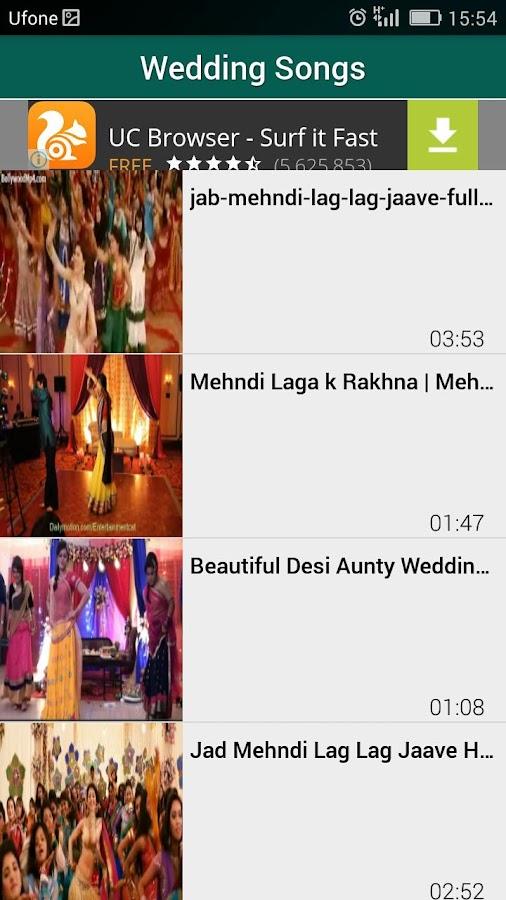 Mehndi Dance Hindi MP3 Wedding Songs 2017 Screenshot
