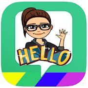 fast Bitmoji Avatar-emoji