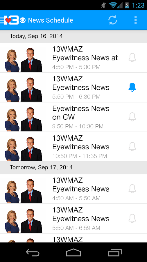 WMAZ-TV - screenshot