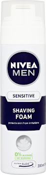 Nivea Men Shaving Foam - Sensitive, 200ml