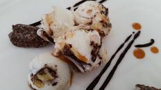 Caramel Chocolate Pecan Crunch,