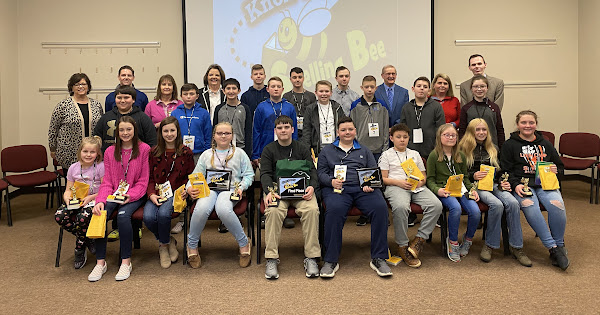 2020 Knox County Spelling Bee - February 18, 2020