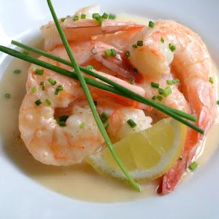 Shrimp With Lemon Beurre Blanc