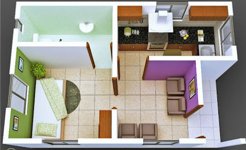 3d small house plan apps on google play