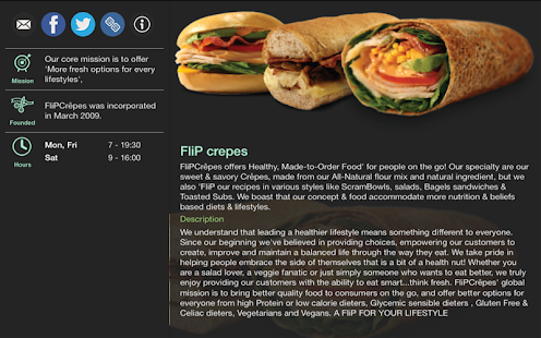 FliP crepes- screenshot thumbnail