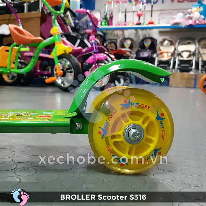 Xe trượt Scooter trẻ em Broller S316 11