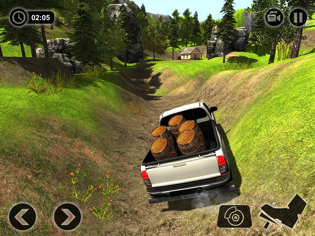 offroad hilux pickup lkw fahrsimulator android spiele download. Black Bedroom Furniture Sets. Home Design Ideas