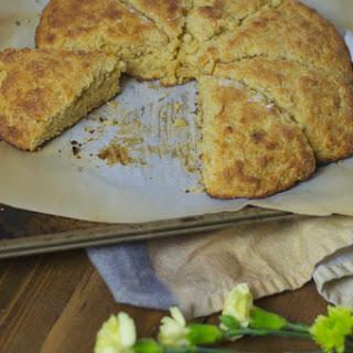 Cornmeal Brown Sugar Scones made with Lee's Ghee