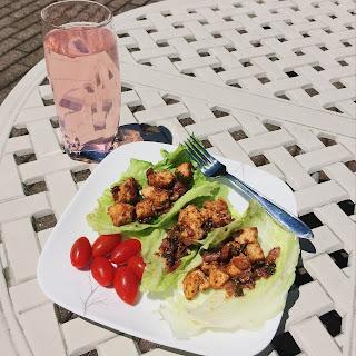 Thai Chicken Lettuce Wraps (Low Carb)