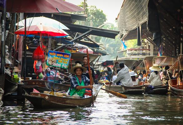 Damnoen Floating Market di vlao