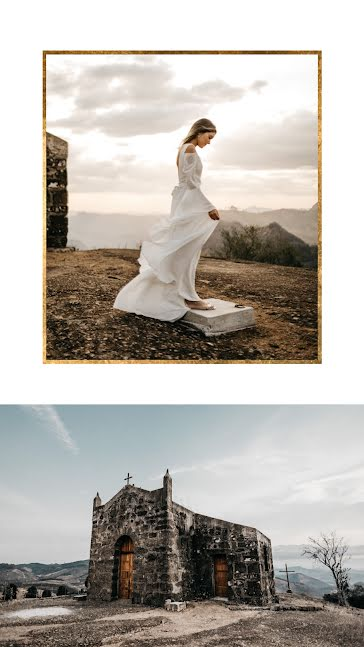 Dress & Chapel Collage - Wedding Template