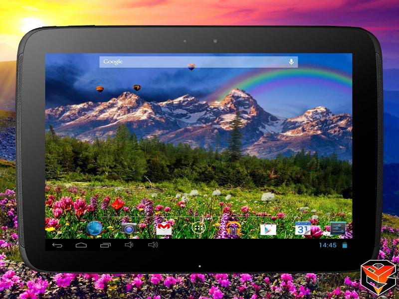 Mountain Flowers Pro Live Wallpaper Screenshot 7