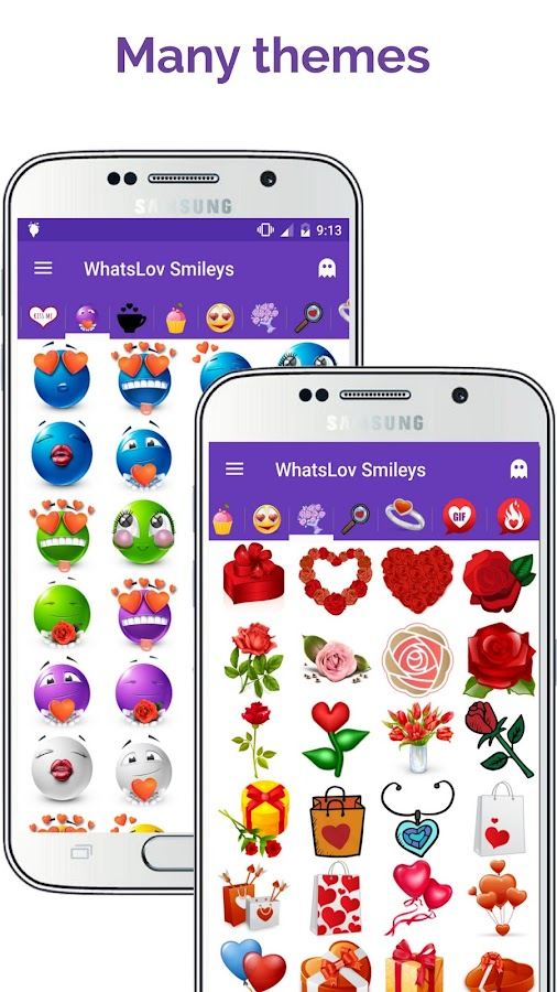 💘 WhatsLov: Smileys of love, stickers and GIF- screenshot