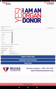 E-Donor Card App 6