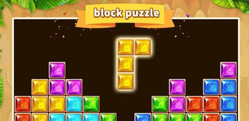Gem blast— slide &  dropdom  is a new fun&classic tetra Tetromino block puzzle