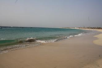 Photo: Man behöver inte trängas på stranden.
