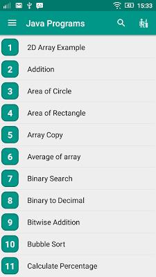 Java Tutorial - screenshot