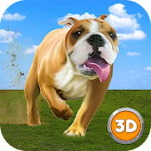 Big City Bulldog Simulator 3D