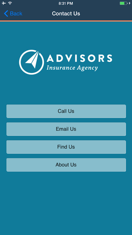 Advisors Insurance Agency- screenshot