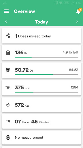 Health & Fitness Tracker with Calorie Counter 2.0.70 screenshots 1