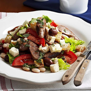 Sausage and Tomato Bread Salad