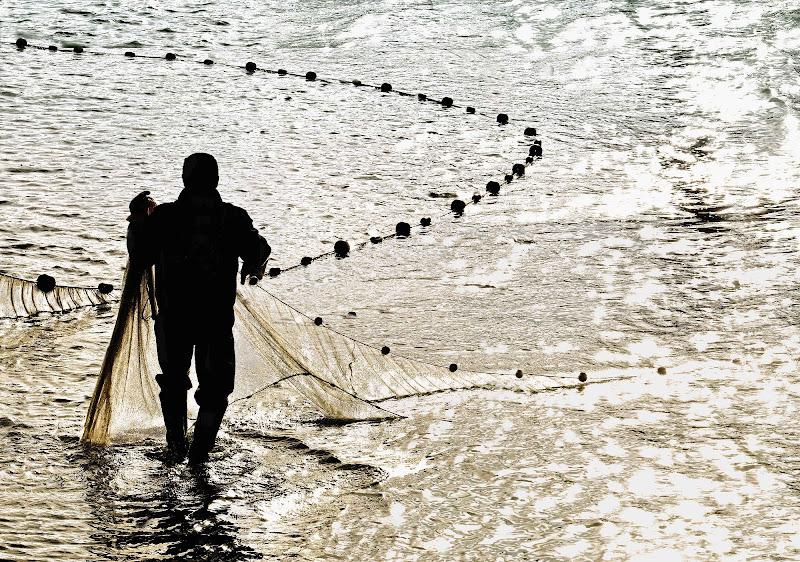 La pesca con la rete di AlfredoNegroni