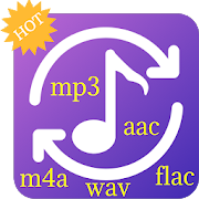 Audio Mp3 Converter - support AAC,WAV,WMA,M4A,FLAC