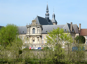 Photo: Day 23 - Amazing Town Hall (?) on Side of the Canal de la Marne ou Rhin