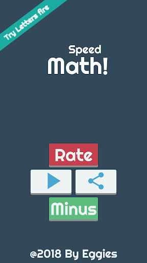 Speed Math 2018 - Ad free Aplicaciones (apk) descarga gratuita para Android/PC/Windows screenshot
