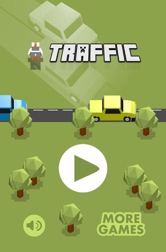 Blocky Traffic Road