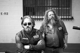 Photo: SONS OF ANARCHY: Tommy Flanagan and Mark Boone Junior. CR: James Minchin III / FX