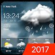 Storm Clock & Weather Widget