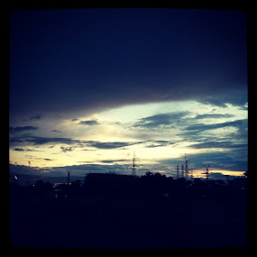unnoticed moments of life by Abha Singhal - Landscapes Cloud Formations ( clouds, sky, color, evening, photography )