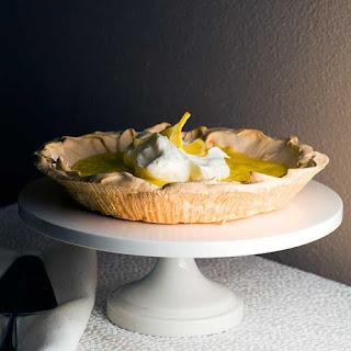 Gluten Free Upside Down Lemon Meringue Pie