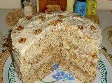 Satisfying Hickory Nut Cake Recipe