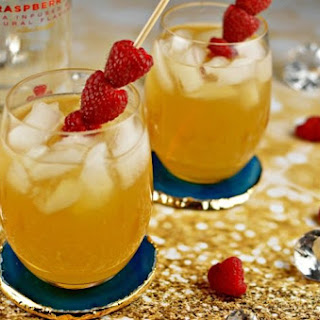 Raspberry Passion Fruit Kiss - a Cocktail Recipe