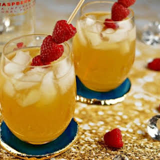 Raspberry Passion Fruit Kiss - A Cocktail.