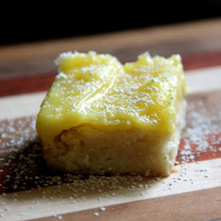 Pineapple Curd Bars with Coconut Shortbread Crust