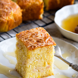 Savory Cornbread with Turkey and Cheese Recipe