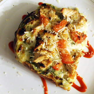 Spinach Artichoke Pizza Bread