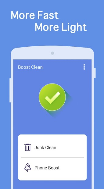Boost Clean Android App Screenshot