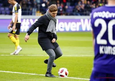 📷 Le Sporting Anderlecht a reçu la visite d'un champion d'Europe
