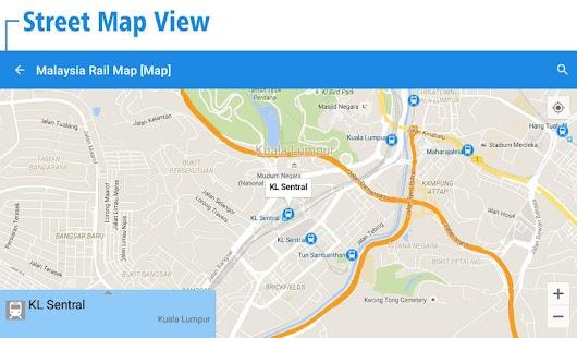Malaysia rail map kuala lumpur android apps on google play malaysia rail map kuala lumpur screenshot thumbnail sciox Choice Image