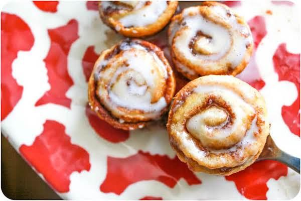 Mini (no Yeast) Cinnamon Buns Recipe