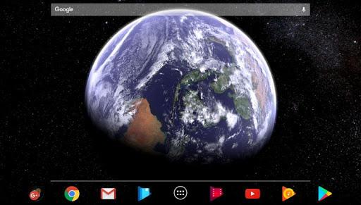 Earth & Moon in HD Gyro 3D Parallax Live Wallpaper 2.8 Screenshots 3