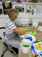 Photo: Becky Re!eases her Inner Watercolorist!