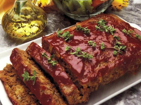 Cottage Meat Loaf (oven Version) Recipe