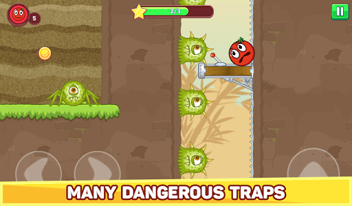 Bounce Ball 5 - Red Jump Ball Hero Adventure filehippodl screenshot 21